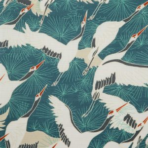 Cranes Blue by Emily Burningham