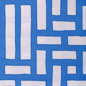 Shanghai Trellis Blue by Emily Burningham