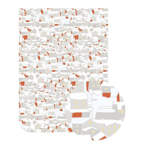 Urban Winter Wrapping Paper by Emily Burningham